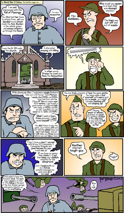 Melted Brain #7: World War II On-Line